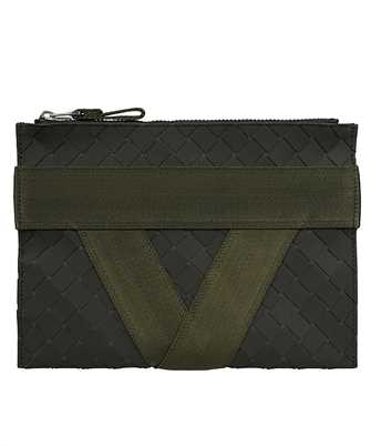 Bottega Veneta 651834 V0GK1 V-SHAPED RIBBON MOTIF Document case