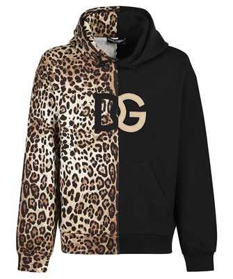 Dolce & Gabbana G9VQ4Z FU7DU LEO SENZA LOGO Hoodie