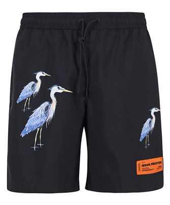 Heron Preston HMFA005R21FAB001 BLACK Swim shorts