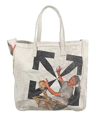 Off-White OMNA136F20FAB001 PASCAL VINTAGE CANVAS Bag