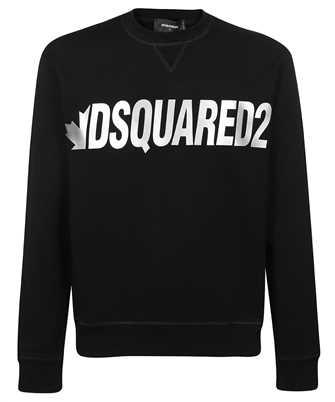 Dsquared2 S71GU0432 S25042 METAL LEAF CREWNECK Sweatshirt