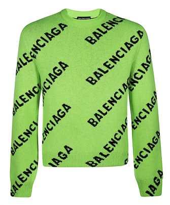 Balenciaga 621019 T1567 ALLOVER LOGO Knit