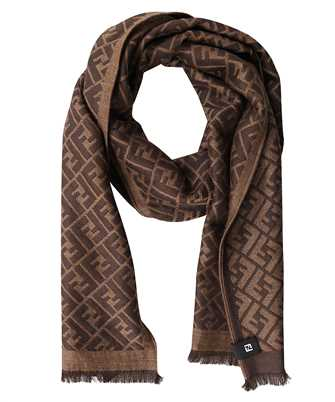 Fendi FXS124 AFHP 30X180 FF ALL OVER Scarf