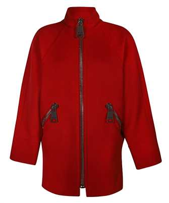 Moschino 0612 5512 MACRO ZIP LONG Coat