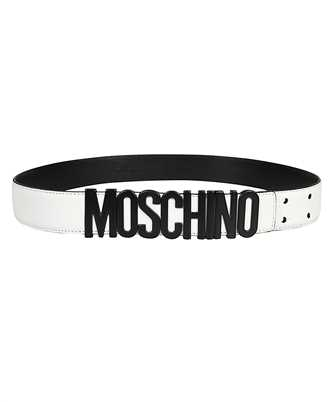 Moschino A8014 8001 LETTERING LOGO Belt