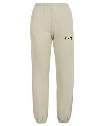 Off-White OWCH006F21JER002 OW LOGO SLIM SWEAT Trousers