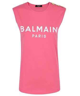 Balmain VF11000B001 LOGO PRINT T-shirt