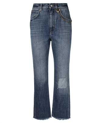 Givenchy BW50NG50LD CHAIN-DETAIL HIGH-RISE Jeans