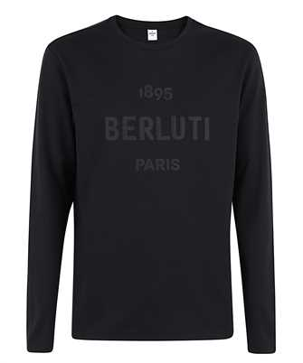 BERLUTI R19JRL52 002 EMBROIDERED LOGO T-shirt