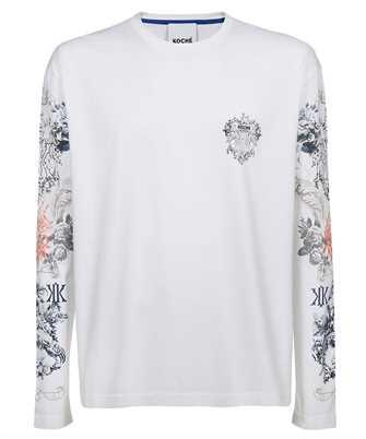 Kochè SK4GC0011 S23727 PRINTED LONG SLEEVES T-shirt