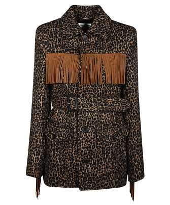 Saint Laurent 630896 Y3B52 LEOPARD-PRINT Jacket
