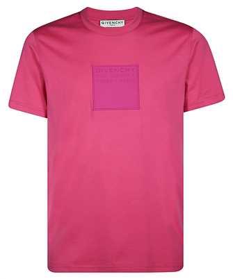 Givenchy BM70YL3002 GIVENCHY ADDRESS PATCH SLIM-FIT T-shirt