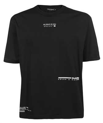 Dolce & Gabbana G8MN3Z HU7F0 RUBBERIZED LOGO T-shirt