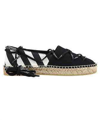 Off-White OWIB002R21FAB001 LACE-UP FLAT Espadrillas