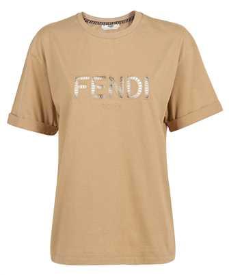 Fendi FS7375 AFLT EMBROIDERED LOGO T-shirt