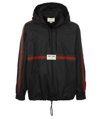 Gucci 594861 XDBCH COATED COTTON WINDBREAKER Jacket
