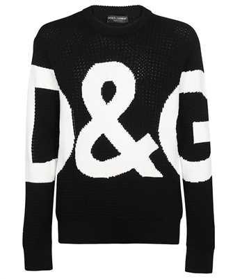 Dolce & Gabbana GXG69T JBVD8 D&G LOGO INLAY Knit
