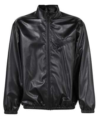 Opening Ceremony YMEA002F21FAB001 FAUX LEATHER TRACK Jacket