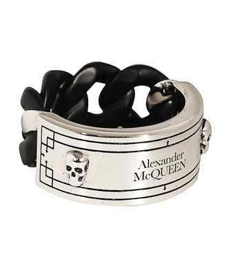 Alexander McQueen 599980 J160K IDENTITY Ring