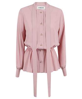 Lanvin RW-TO600U 4562 A20 PUSSYBOW BUTTONED Shirt