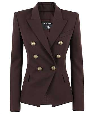 Balmain UF07110167L FITTED DOUBLE-BREASTED Jacket
