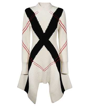 Alexander McQueen 641866 Q1ARG EXPLODED ARGYLE Dress