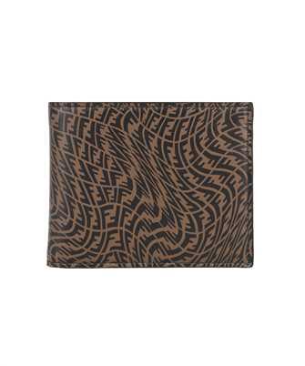 Fendi 7M0001 AFSX COIN BI-FOLD Wallet