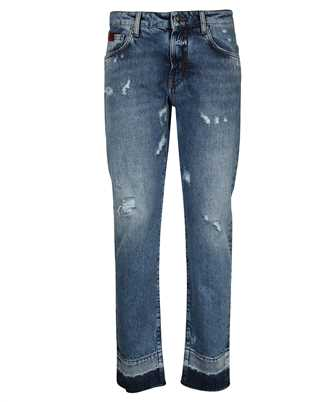 John Richmond RWP21074 USED EFFECT Jeans