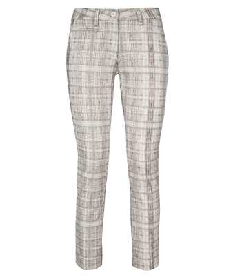 Mason's 4PNTD1010N JB50S12 SHADED CHECK PRINT NEW YORK SLIM CHINO Trousers