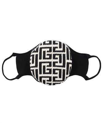 Balmain WH1XD001K265 KNITTED MONOGRAM Mask