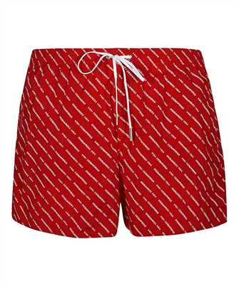 Dsquared2 D7B643290 ALL OVER LOGO Swim shorts
