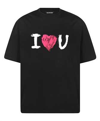 Balenciaga 612966 TJVL5 I LOVE U MEDIUM FIT T-shirt