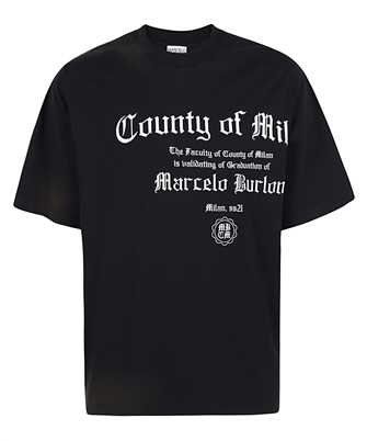 Marcelo Burlon CMAA054R21JER005 COUNTY DEGREE OVER T-shirt