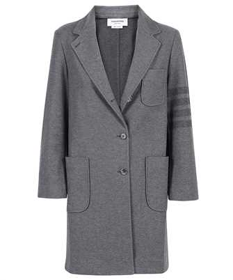 Thom Browne FJT170A 06772 DOUBLE FACE TECH TWILL Coat