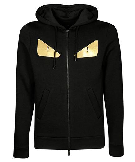 Fendi FY0813 A3LT GOLD METAL BUGS Hoodie