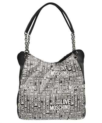 LOVE MOSCHINO JC4164PP1DLE ALL OVER LOGO PRINT Bag