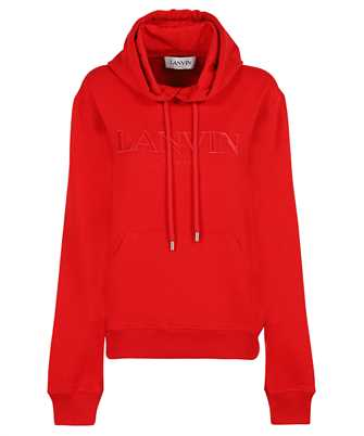 Lanvin RM HO0010 J008 A21 EMBROIDERED LOGO Hoodie