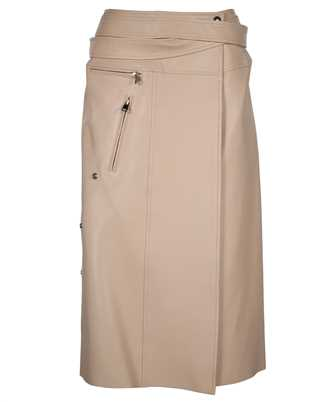 Alexander McQueen 659798 Q5AGE LEATHER WRAP Skirt