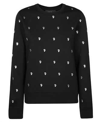 Karl Lagerfeld 210W1807 K/IKONIK ALL-OVER PRINT Sweatshirt
