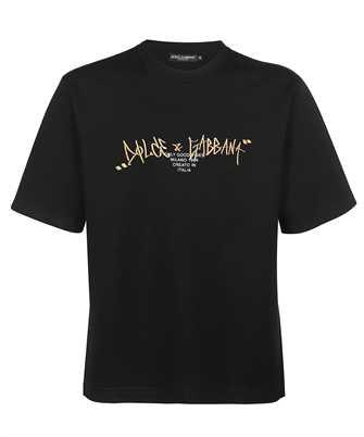 Dolce & Gabbana G8NB6Z HU7IH EMBROIDERY T-shirt