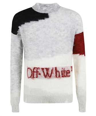 Off-White OMHE062F20KNI001 PUNKED Knit