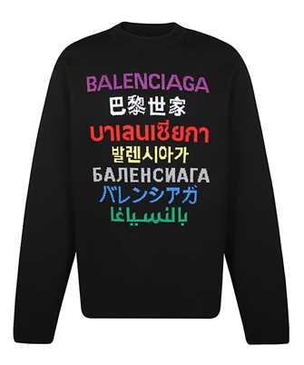 Balenciaga 646491 T1595 LANGUAGES Knit