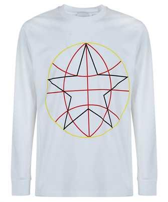 Burberry 8037564 GLOBE GRAPHIC OVERSIZED T-shirt