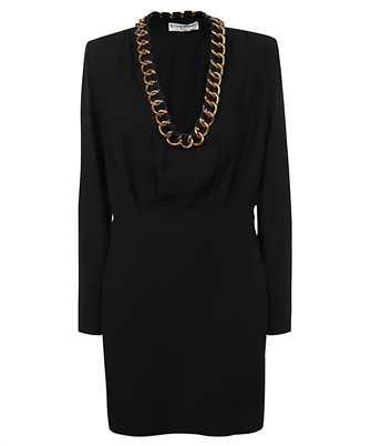 Givenchy BW213410F4 CHAIN-TRIM LONG-SLEEVE MINI Dress