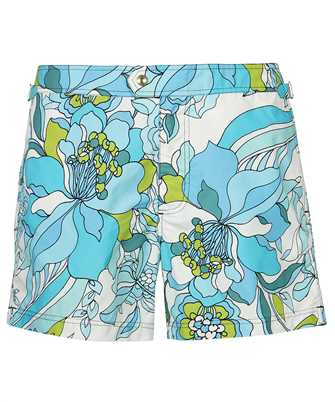 Tom Ford BW654 TFB450 TROPICAL PRINT Swim shorts