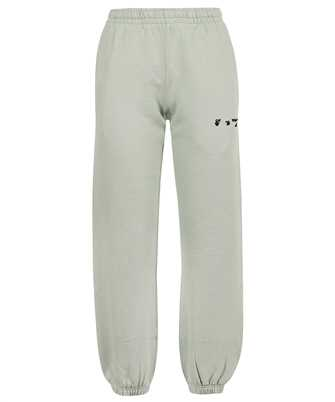 Off-White OWCH006F21JER001 OW LOGO SLIM SWEAT Trousers