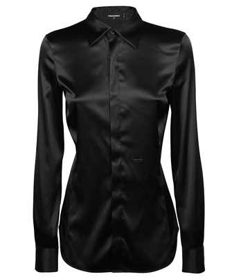 Dsquared2 S72DL0667 S53846 SATIN FITTED Shirt