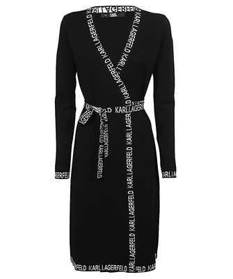 Karl Lagerfeld 211W1363 KARL LOGO TAPE WRAP Dress