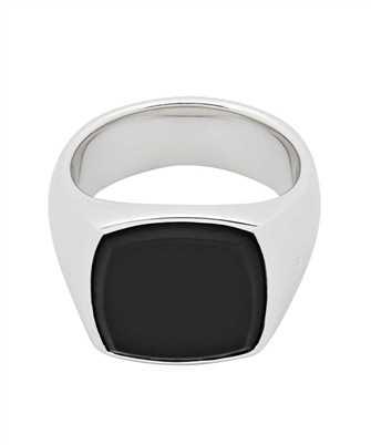 Tom Wood R74HPM BO 01 CUSHION BLACK ONYX Ring