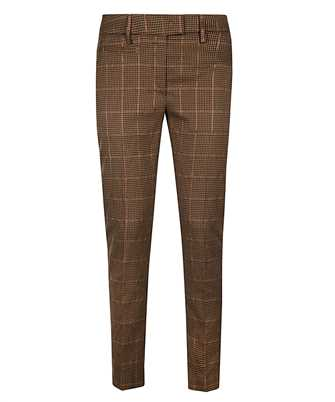 Don Dup DP066 QS0111D XXX SLIM-FIT HOUNDSTOOTH Trousers